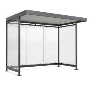 Wartehalle -Modell K3 a / a-, einseitig