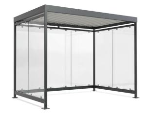 Wartehalle -Modell K3 b / b-, einseitig