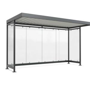 Wartehalle -Modell K4 a / a-, einseitig