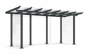 Wartehalle -Modell P13-, einseitig