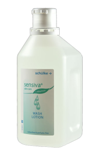 Waschlotion -Schülke sensiva- für Hände und Körper, 500 und 1000 ml (Inhalt/Flasche: 500 ml / Flasche (Art.Nr.: sc1042))