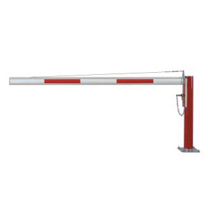 Wegesperre -Alpha 125-, drehbar, 1500 - 6000 mm, zum Aufdübeln