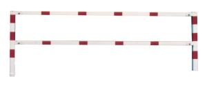 Wegesperre, feststehend, Breite 1500 - 2500 mm, als Rahmen geschweißt