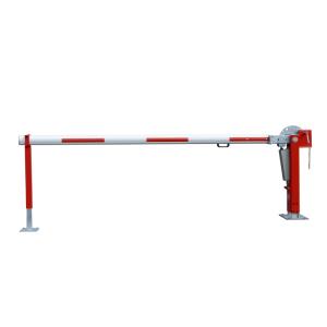 Wegesperre mit Gasdruckfeder -Alpha 350- mit Auflagen- oder Pendelstütze, Breite 3000 - 8000 mm