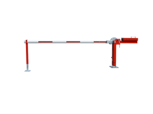 Wegesperre mit Gegengewicht -Alpha 450- mit Auflagen- oder Pendelstütze, Breite 3000 - 8000 mm