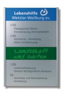Wegweiser -Unitex G-