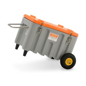 Werkzeugbox -CEMbox- 150 Liter, Trolley Offroad aus PE (Ausführung: Werkzeugbox -CEMbox- 150 Liter, Trolley Offroad aus PE (Art.Nr.: 39950))