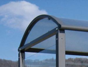 Wetterschutz für Wartehalle -Station- aus Plexiglas, VPE 2 Stk. (Ausführung: Wetterschutz für Wartehalle -Station- aus Plexiglas, VPE 2 Stk. (Art.Nr.: 22344))