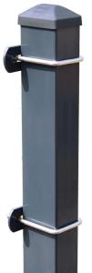 Zaunpfosten Typ U 60 / 40 / 2 mm, zum Einbetonieren