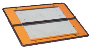 Zifferntafel Grundplatte gem. GGVS und ADR, starr (Ausführung: Zifferntafel Grundplatte gem. GGVS und ADR, starr (Art.Nr.: 64.2411))