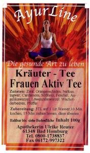 F&B Frauen-Aktiv-Tee 100 g