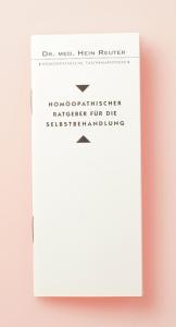 HOM Reuter H, Homöopathischer Ratgeber für die Selbstbehandlung 1 Bd.