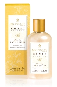 BRONNLEY Honey Blossom Relaxing Bath Elixir 250ml