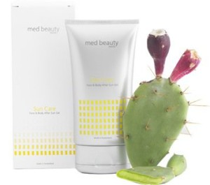 MED BEAUTY Sun Care Face & Body After Sun Gel 150ml