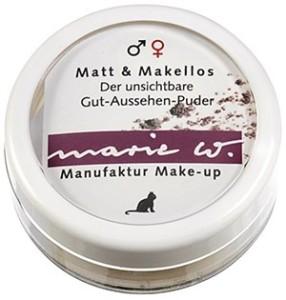 marie w. Matt und Makellos