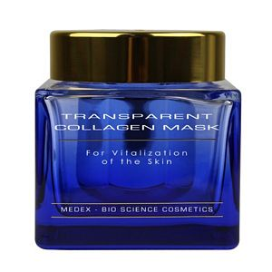 MEDEX Transparent Collagen Mask (Größe: 15ml Reisegröße)