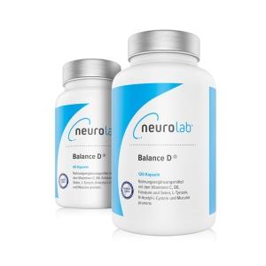 NeuroLab Balance D (Packungsgröße: 60 Kapseln)