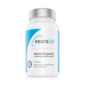 NeuroLab Vitamin D3 plus K2 60Kps.