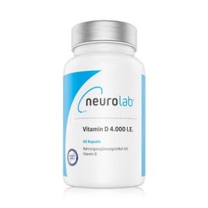 NeuroLab Vitamin D 4000 IU 60Kps.