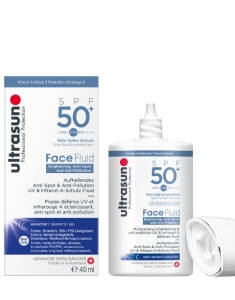 ULTRASUN Face Fluid Brightening, Anti-Spot SPF50+