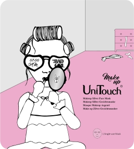 UNITOUCH Makeup Silver Face Mask 25ml