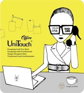 UNITOUCH Energizing Gold Face Mask Office 25ml