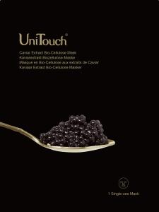 UNITOUCH Kaviarextrakt Biozellulose Gesichtsmaske 26ml