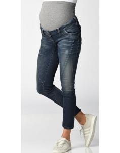CHRISTOFF Jeans Damen Umstandshose / Denimjeans / Designerjeans - blau