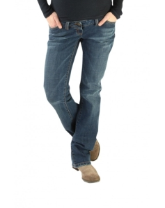 Christoff Jeans Bootcut-Jeans sitzt perfekt: NEU bis Gr. 54 NEU - blau