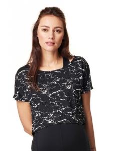 Croptop Florien aus der Noppies Activewear - schwarz