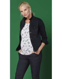 Esprit maternity Jacket denim ls - schwarz
