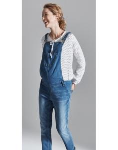 Esprit maternity Stilvolle Bluse von Esprit Carmen-Halsausschnitt ein Herzchenmuster - creme