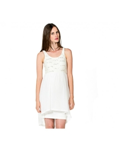 Love2Wait Kleid Luthien elegantes Brautkleid Hochzeitskleid Umstandsbrautkleid - creme