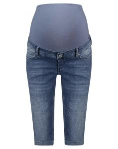 Noppies Umstandsshorts Jeans Bobby - blau