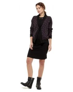 Queen Mum Comf Kimono Jacket - schwarz