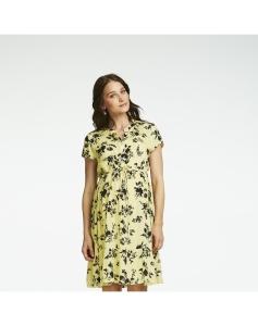 Queen Mum Still-Kleid Bangkok - gelb