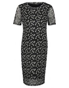 Supermom Kleid Black Flower - schwarz