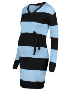 Supermom Kleid Blue Stripe - blau