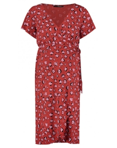 Supermom Kleid Flower - rot