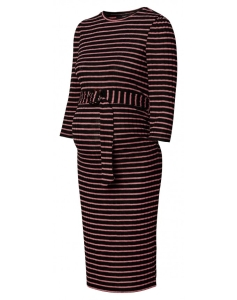 Supermom Kleid Stripe - rot