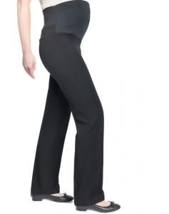 Umstandshose Christoff  trendige Stretchhose mit etwas weiterem Bein - schwarz