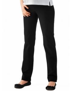 Umstandsmode Christoff / Boot-Cut raffiniert elegante Stretchhose extra extralang (Größe: 34)