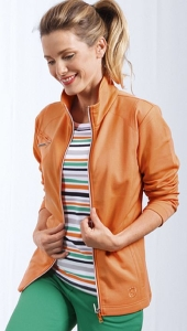 Canyon Women Sports Damen Sweatjacke orange (Größe: 40)