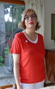 Canyon Doppelshirt rot (Größe: 38)