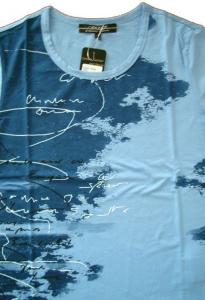 Canyon Women Sports T-Shirt Druck iceblau (Größe: 46)