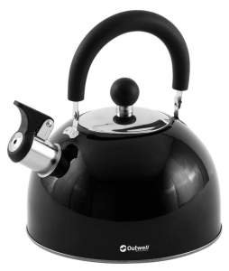 Outwell Edelstahl Wasserkessel (Farbe: schwarz)