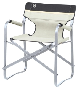 Coleman Klappstuhl Deck Chair,Deckchair (Farbe: khaki)