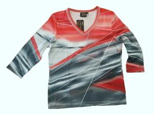 Canyon T-Shirt Futuro red-grey-black (Größe: 42)