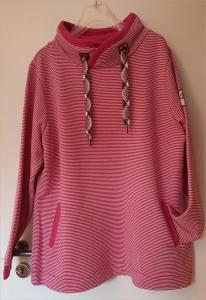 Serena Malin Sweatshirt mit Stehkragen berry (Größe: 44)