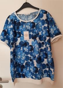 Serena Malin Shirt Dots Blau (Größe: 44)